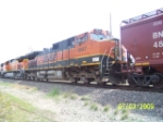 BNSF C44-9W 1047